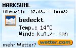 Das Wetter in Wolfsburg-Unkeroda
