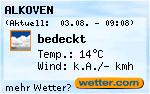 Wetter in Alkoven